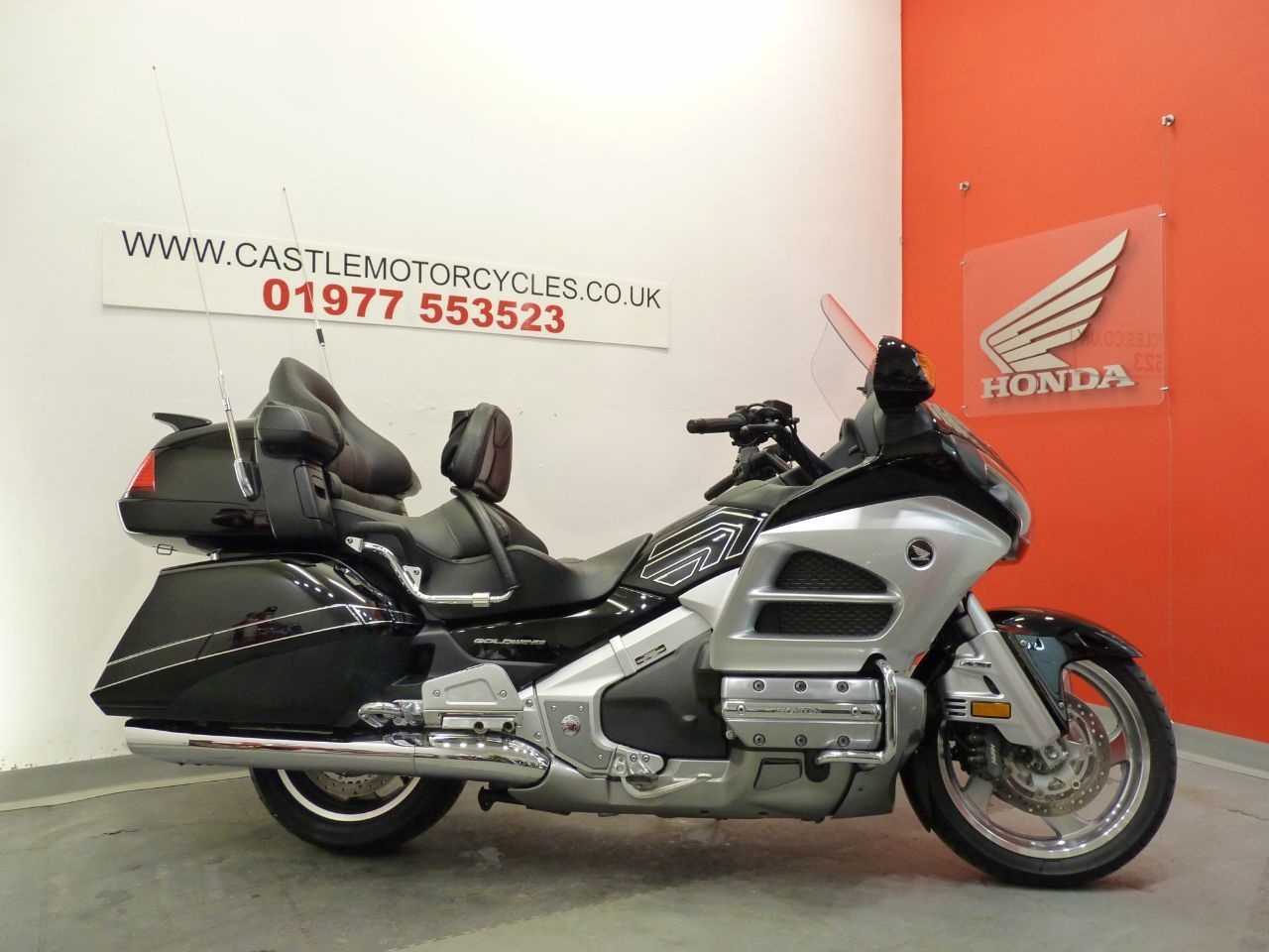 Honda GL1800 Goldwing 1.8 GL 1800 D Tourer Petrol Black