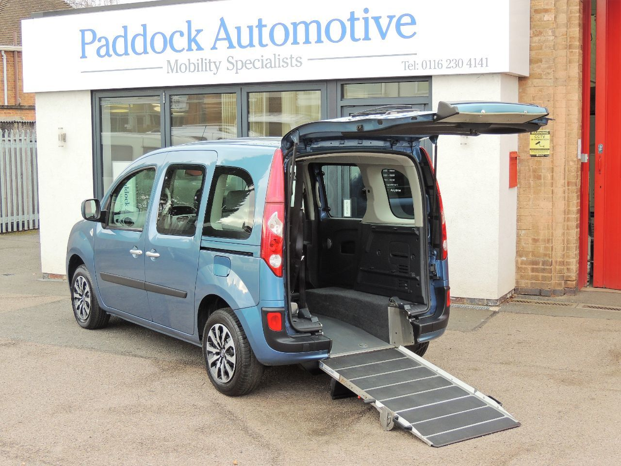 Renault Kangoo 1.5 dCi 75 Expression Disabled Wheelchair Adapted Vehicle WAV Wheelchair Adapted Diesel Blue Mica