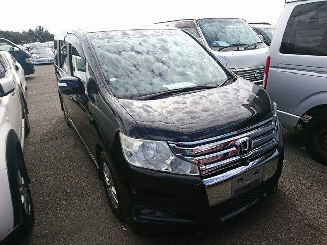 Honda Stepwagon 2.0 Spada RK5 MPV Petrol Unmarked Metallic Black