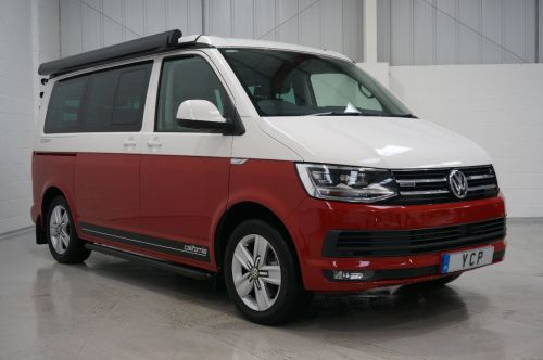 Volkswagen California 2.0 Bi TDI 4 motion DSG MPV Diesel Red