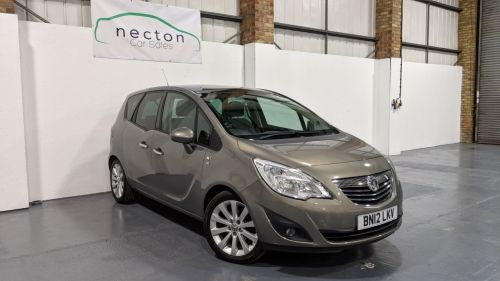 Vauxhall Meriva 1.4 SE Turbo MPV Petrol Brown