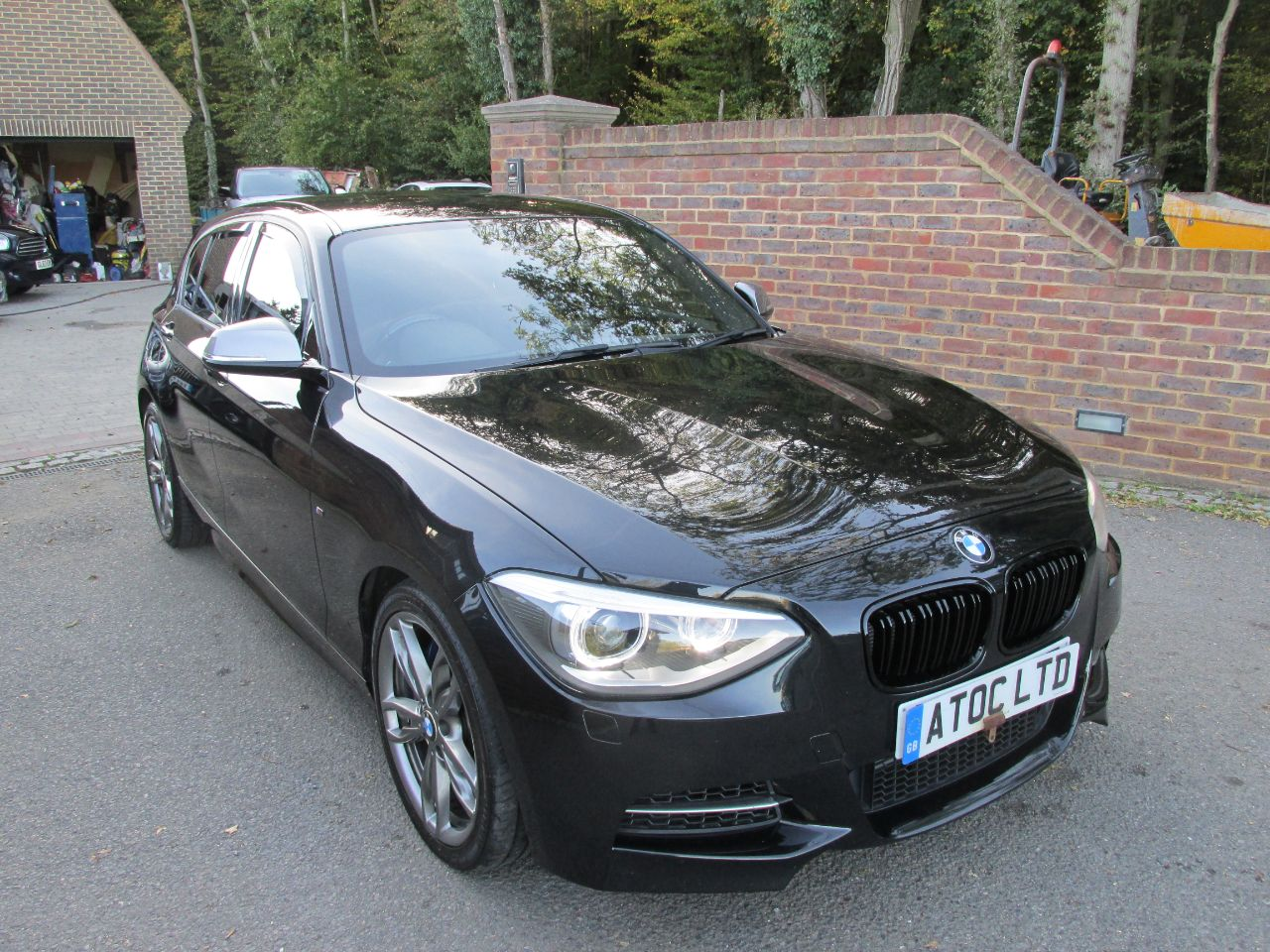 BMW 1 Series 3.0 M135i M Performance 5dr Step Auto Hatchback Petrol Black at A Touch of Class Kingsnorth