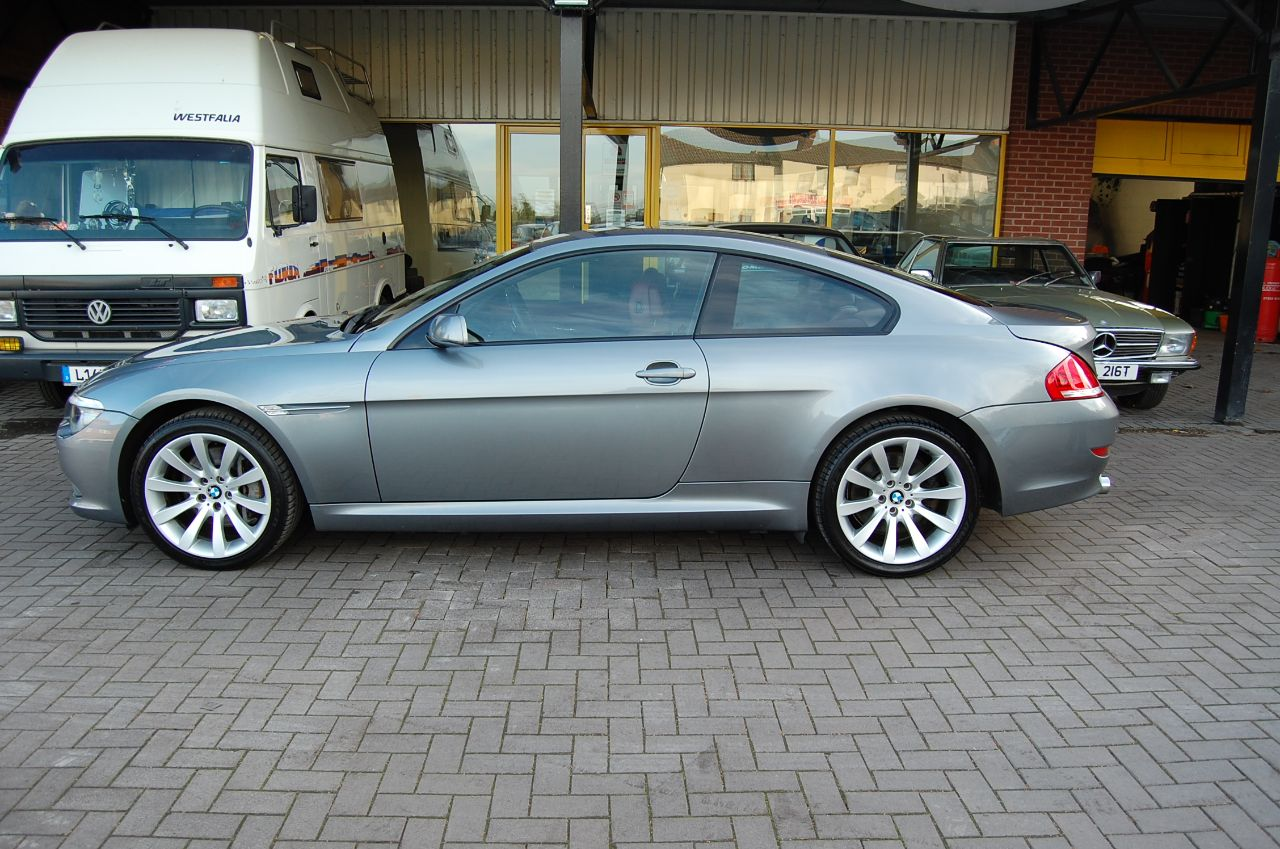 2007 BMW 6 Series 3.0 635 D SPORT AUTO COUPE HUGE SPECIFICATION HEADS UP DISPLAY LOW MILEAGE