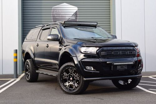 Ford Ranger 3.2 Wildtrack Auto SMC Hawk Edition Pick Up Diesel Black