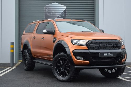 Ford Ranger 3.2 Wildtrack Auto SMC Hawk Edition Pick Up Diesel Orange
