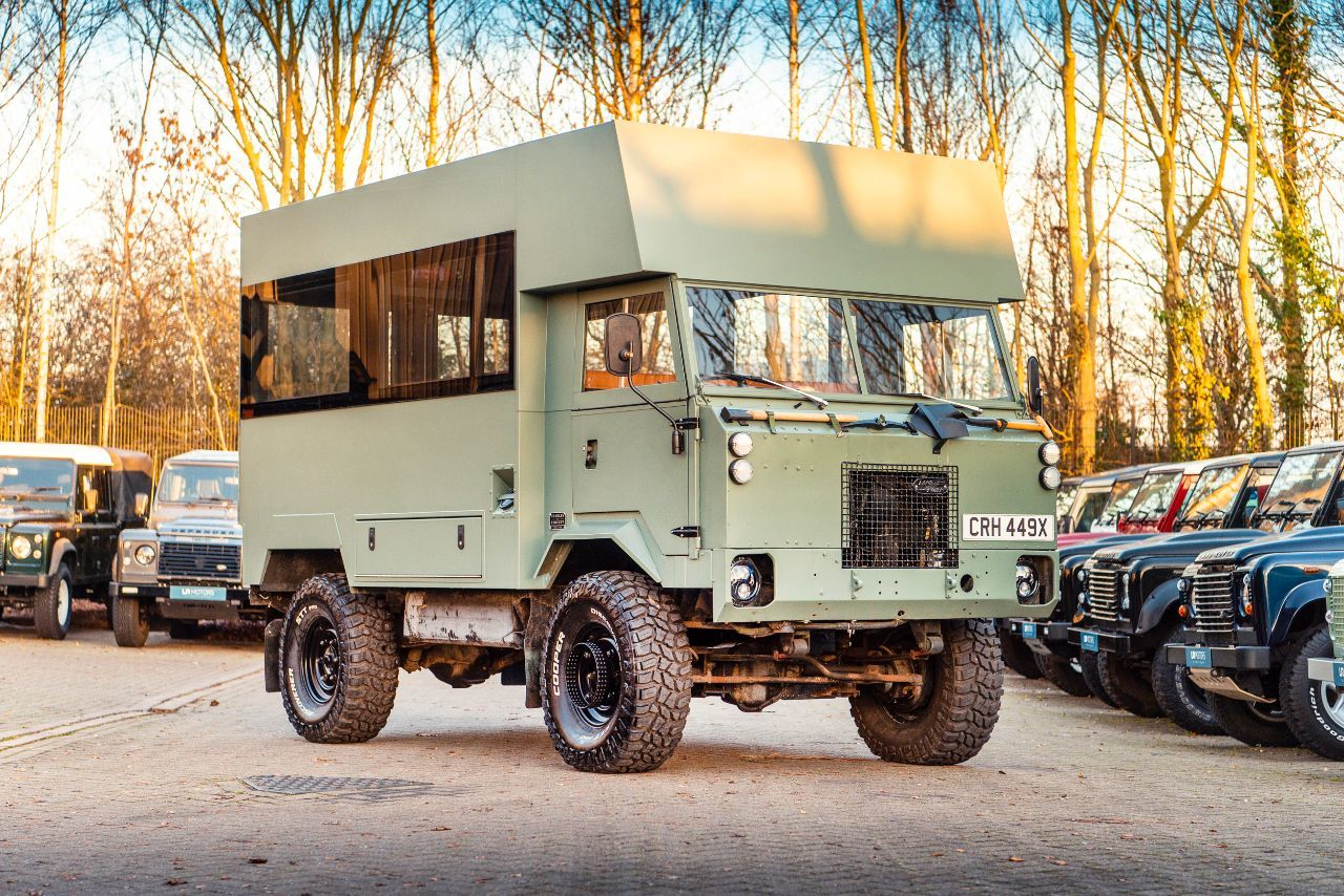 Land Rover Series III 4.6 101 FORWARD CONTROL. Commercial Petrol Green