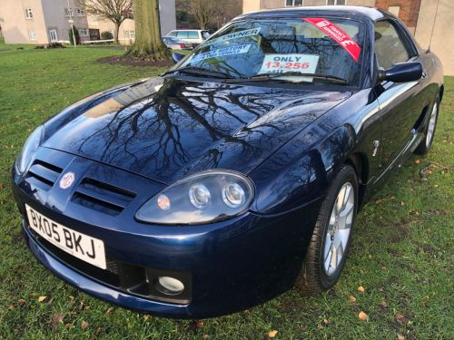 MG MGTF 1.8 135 16v 2dr Convertible with Hard Top *ONLY 13,256 MILES**ONE OWNER* Sports Petrol Blue
