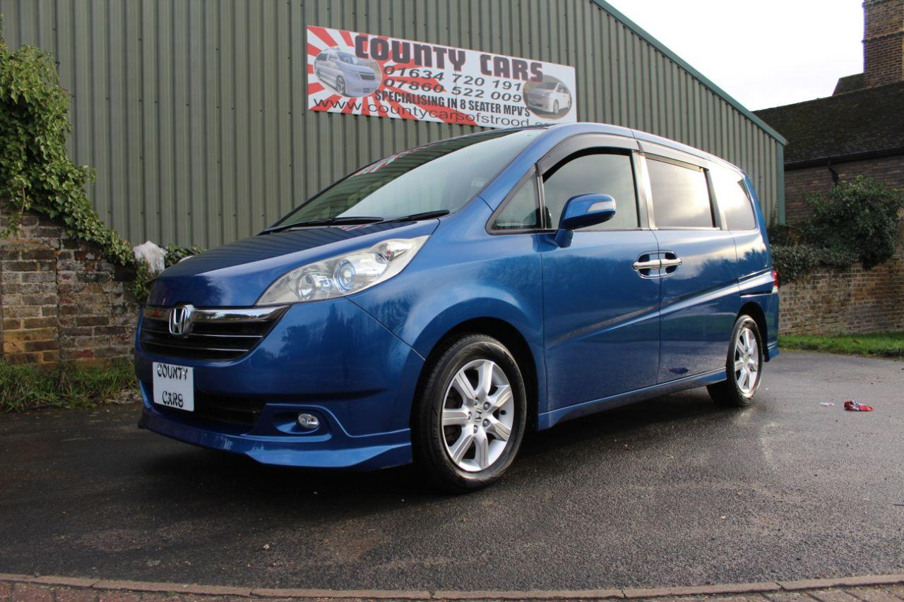 Honda Stepwagon 2.4 Spada MPV Petrol Unmarked Metallic Blue