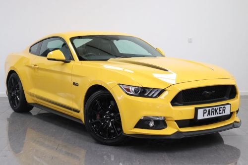 Ford Mustang P100 5.0 V8 GT Shadow Edition 2dr Coupe Petrol Triple Yellow