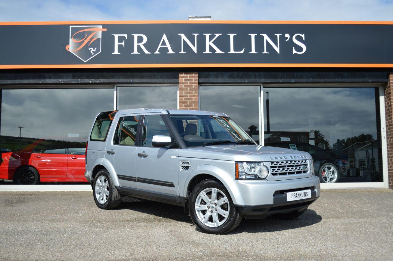Land Rover Discovery 4 Discovery 4 3.0 SDV6 GS Four Wheel Drive Diesel Silver