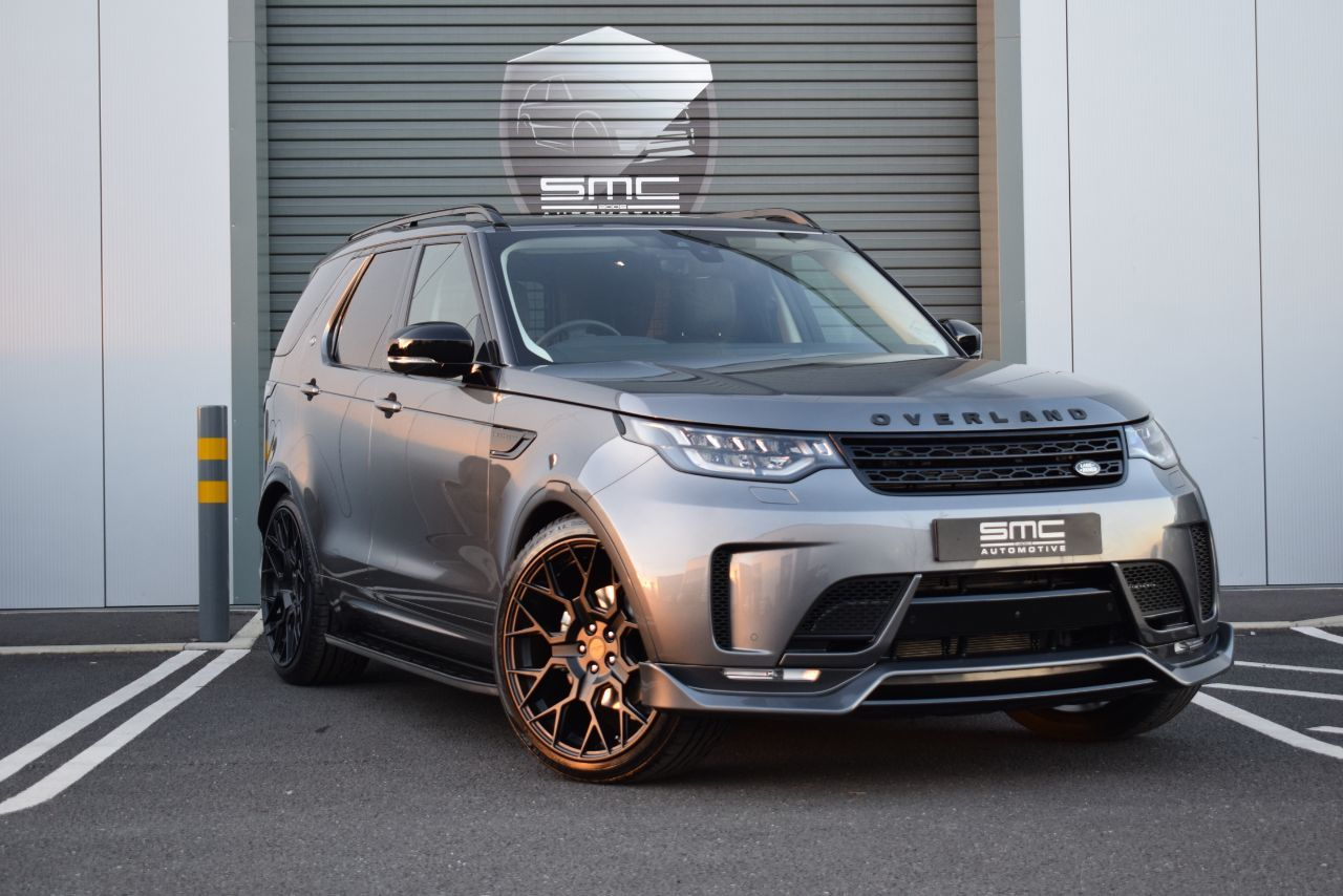 Land Rover Discovery 3.0 TD6 SE Commercial Auto SMC Over Land Exclusive Star Tech Edition Commercial Diesel Grey
