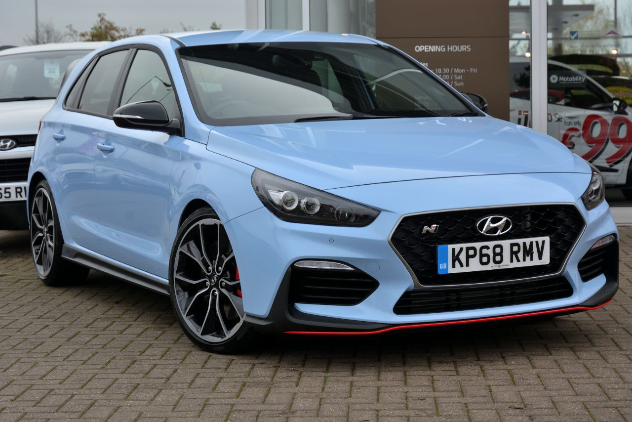 Hyundai i30 2.0T GDI N Performance 5dr Hatchback Petrol Performance Blue