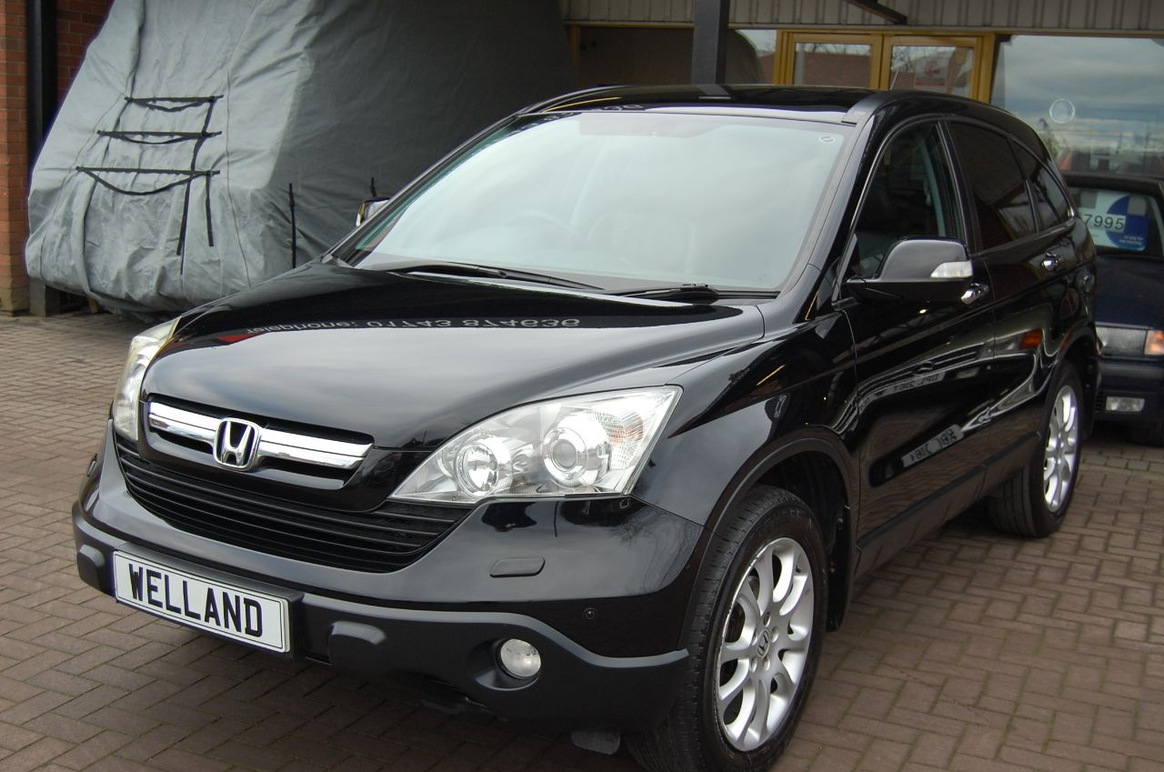 2008 Honda CR-V 2.2 i-CTDi EX 5 DOOR 6 SPEED MANUAL PANORAMIC ROOF TOUCH SCREEN NAVIGATION