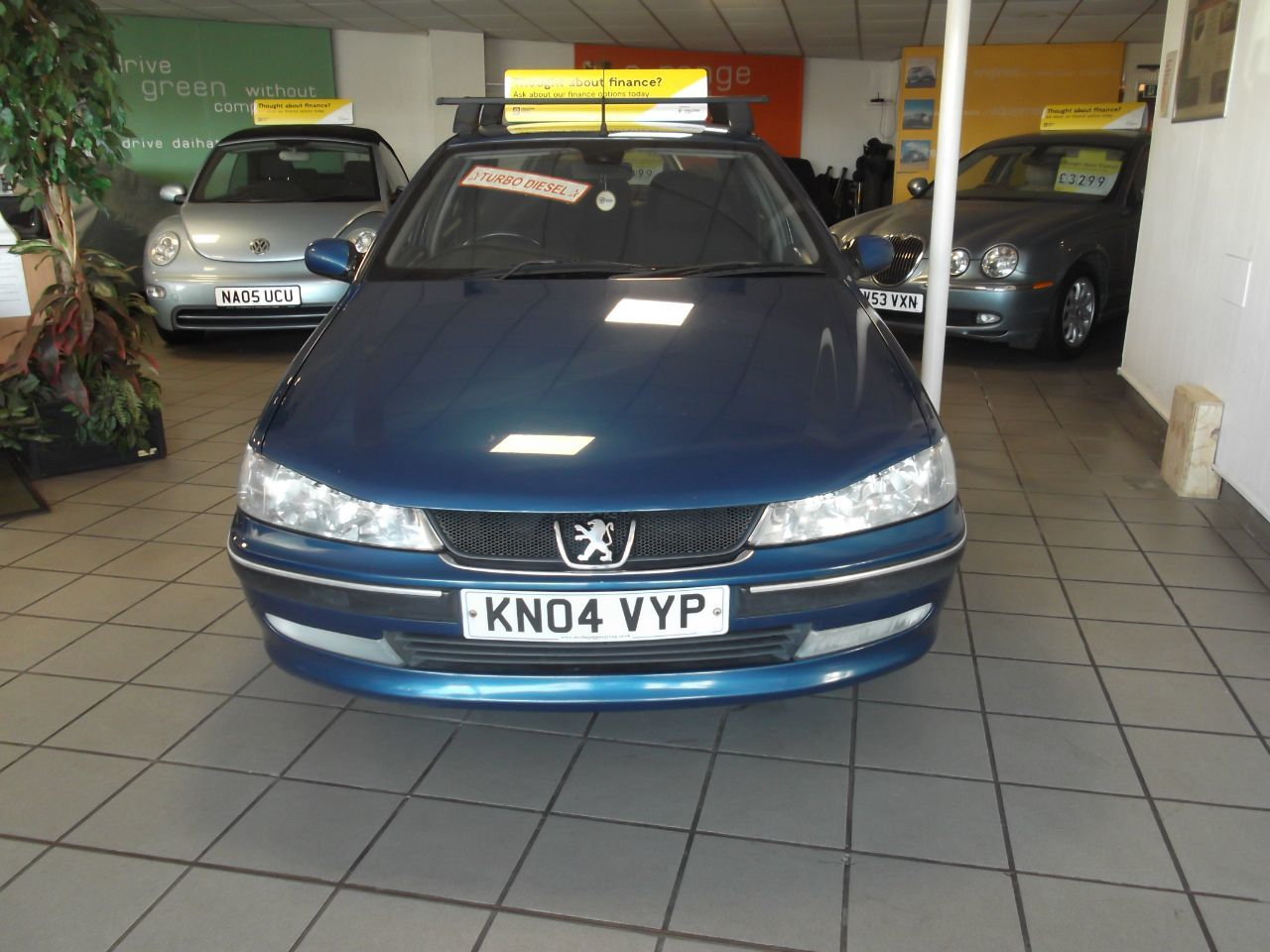 Peugeot 406 2.0 HDi 90 S 4dr [AC+SN] Saloon Diesel Blue