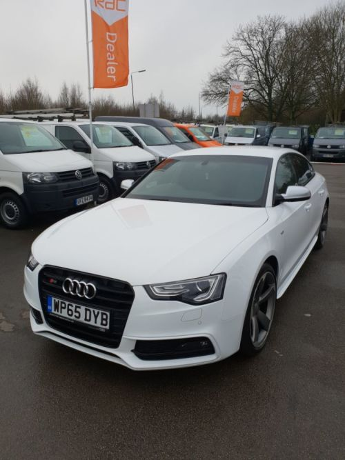 Audi A5 3.0 S5 Quattro Black Edition 5dr S Tronic - LOW MILEAGE - Hatchback Petrol White