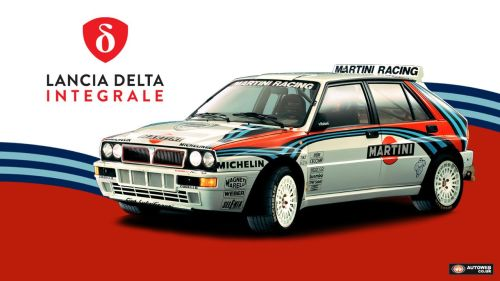 Lancia Integrale Wallpaper