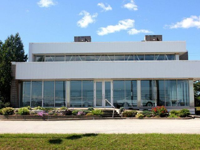 BMW 'Ghost' dealership waits frozen in time