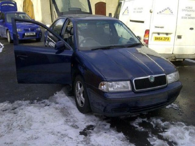 Scotland's £150 Skoda Batmobile