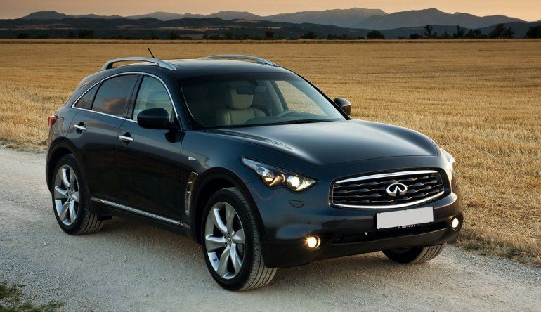 five of the best sport suvs in 2014 infiniti fx. Black Bedroom Furniture Sets. Home Design Ideas