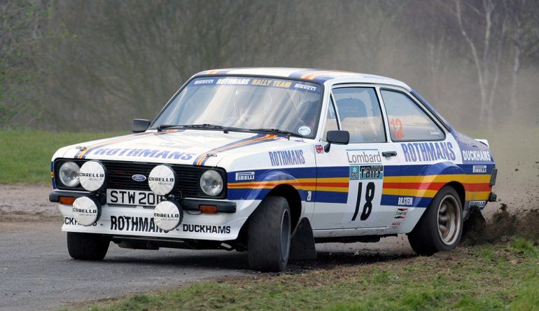 Five of the Best Rally Cars of All Time  Ford Escort RS1800
