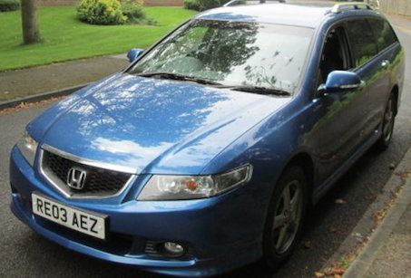 2003 Honda Accord 2.4 iVtec Type-S 5dr £1995