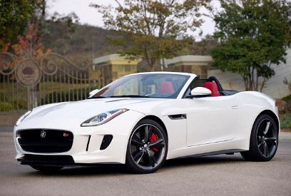 Jaguar F Type Convertible V8 S