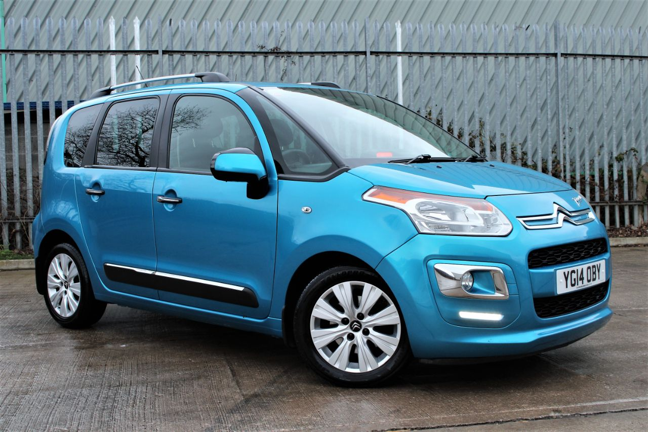 Citroen C3 Picasso 1.6 HDi 8V Exclusive [115] 5dr, £30 TAX, FULL SERVICE HISTORY MPV Diesel Cerulean Blue Metallic at Luscombe Qashqai Comparison Leeds