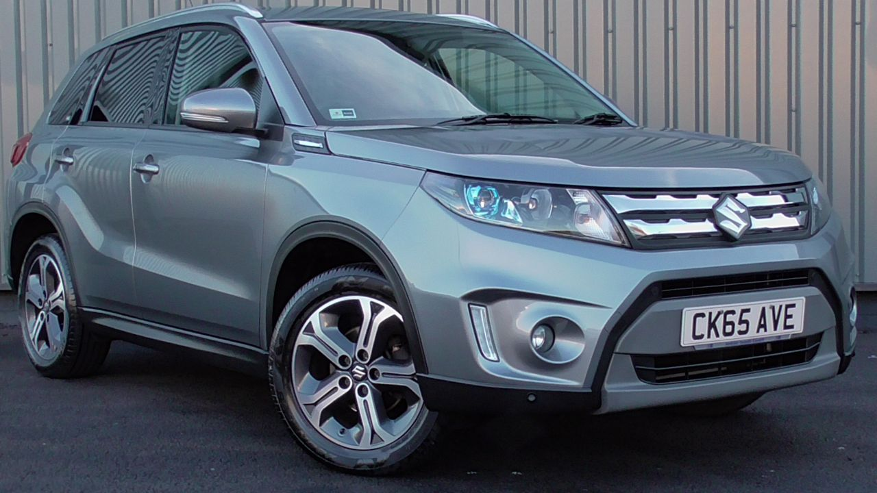 Suzuki Vitara SZ5 1.6 ALLGRIP AT Hatchback Petrol Galactic Grey at Jenkins-cardiffsuzuki-redirects Cardiff