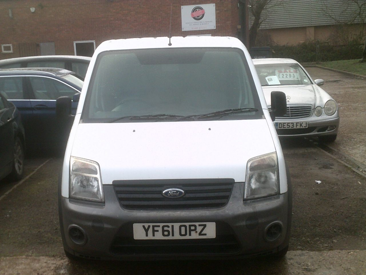 2011 Ford Transit Connect 1.8 Low Roof Van TDCi 90ps