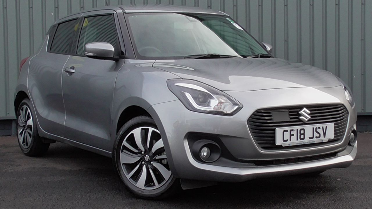 Suzuki Swift 1.0 SZ5 BJET AT 5 Door Petrol Premium Silver Metallic at Jenkins-cardiffsuzuki-redirects Cardiff