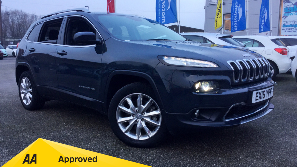 Jeep Cherokee 0.0 2.2 Multijet 200 Limited 5dr