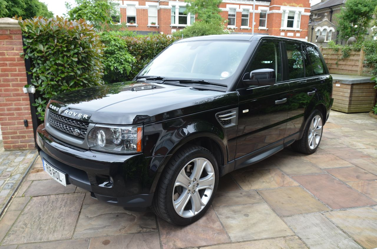 second hand land rover range rover sport 3 0 tdv6 hse 5dr commandshift for sale in london. Black Bedroom Furniture Sets. Home Design Ideas