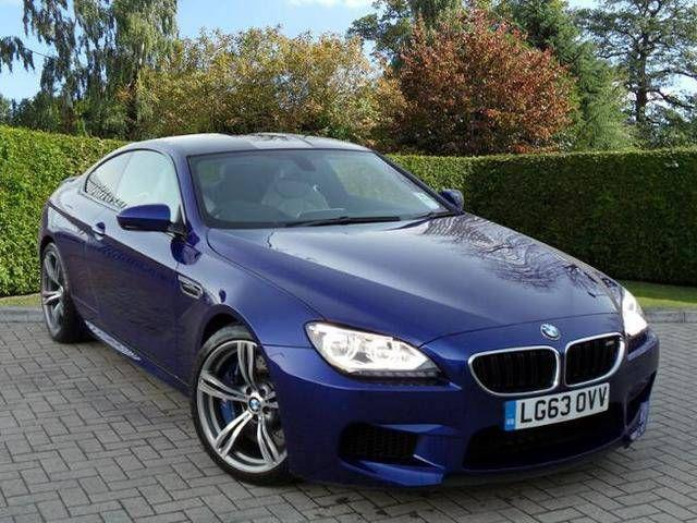 BMW 6 Series 4.4 M6 COUPE PETROL BLUE