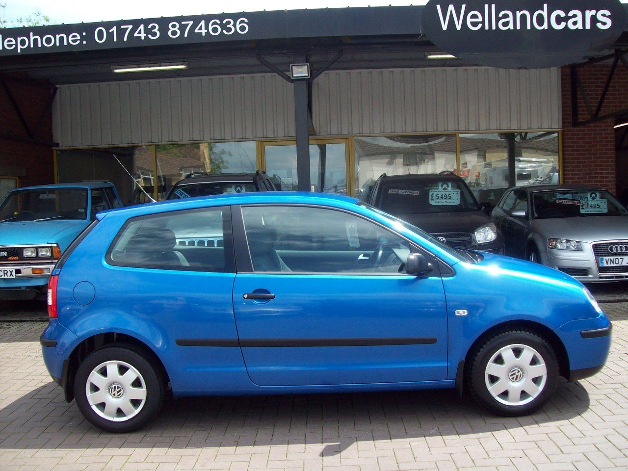 Volkswagen Polo 1.2 Twist 3dr Climatic A/C, Alloys, F/S/H, Low Miles, Cheap To Run Hatchback Petrol Blue at Welland Cars Shrewsbury