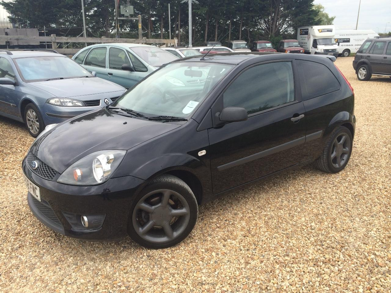 Ford Fiesta 1.6 TDCi ZETEC S 3DR FULL FORD HISTORY ROAD TAX £30 FOR THE YEAR Hatchback Diesel Black