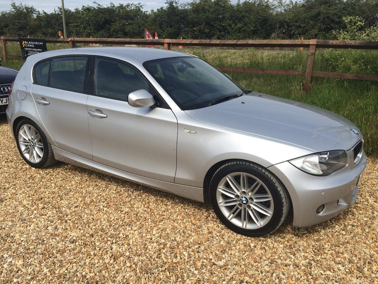 BMW 1 Series 2.0 118d M SPORT 5DR FULL SERVICE HISTORY 2 OWNERS ROAD TAX £30 FOR YEAR Hatchback Diesel Silver