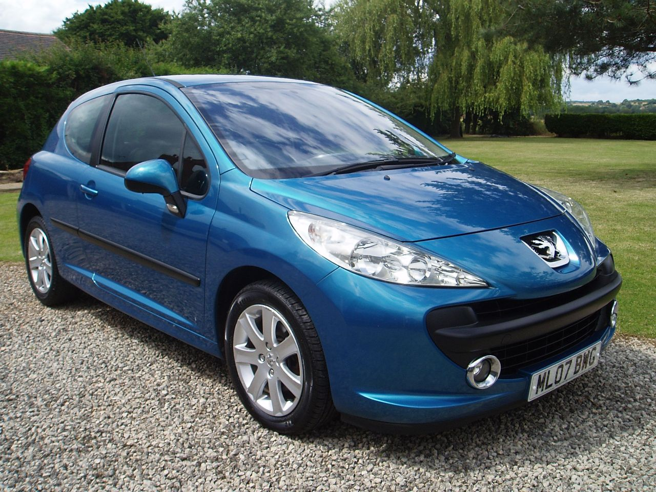 used peugeot 207 1 6 hdi 90 sport 3dr for sale in worksop nottinghamshire silverstone car sales. Black Bedroom Furniture Sets. Home Design Ideas