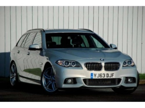 BMW 5 Series 3.0 M Sport Touring Diesel Moonstone