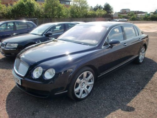 Bentley Continental Flying Spur 6.0 W12 Saloon Petrol Metallic Blue