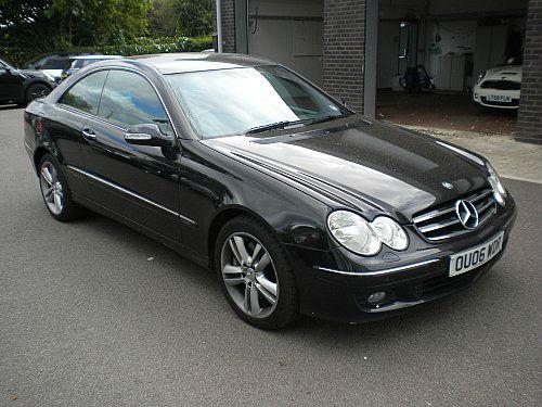 Mercedes-Benz CLK 3.0 Clk320 Cdi Avantgarde Coupe Diesel Black