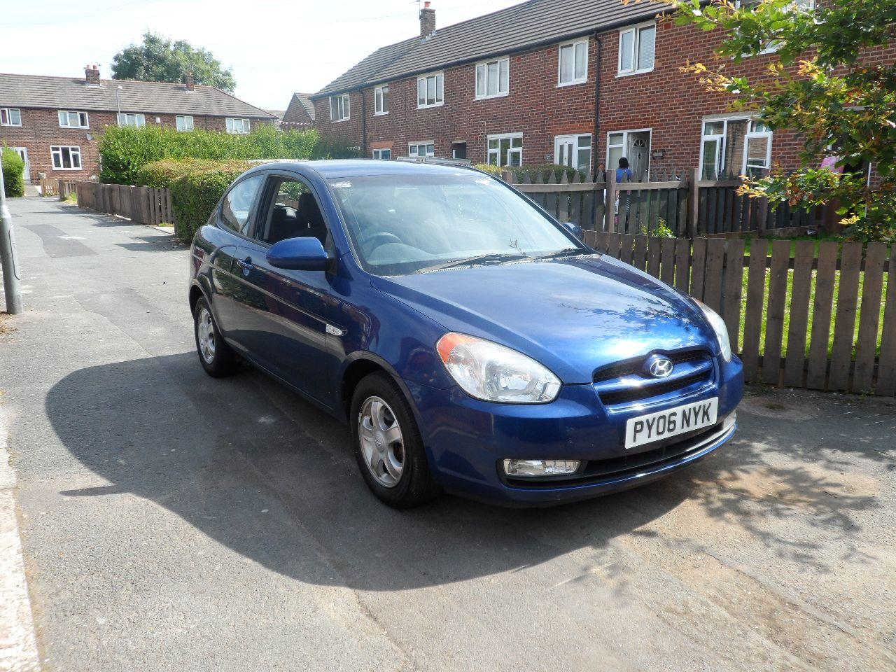 Hyundai Accent 1.4 ATLANTIC LIMITED EDITION HATCHBACK PETROL BLUE