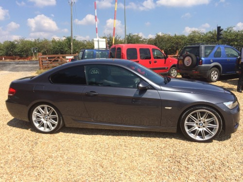 BMW 3 Series 3.0 325d M SPORT 2DR AUTO FSH EXCELLENT CONDITION LOTS OF EXTRAS Coupe Diesel Grey