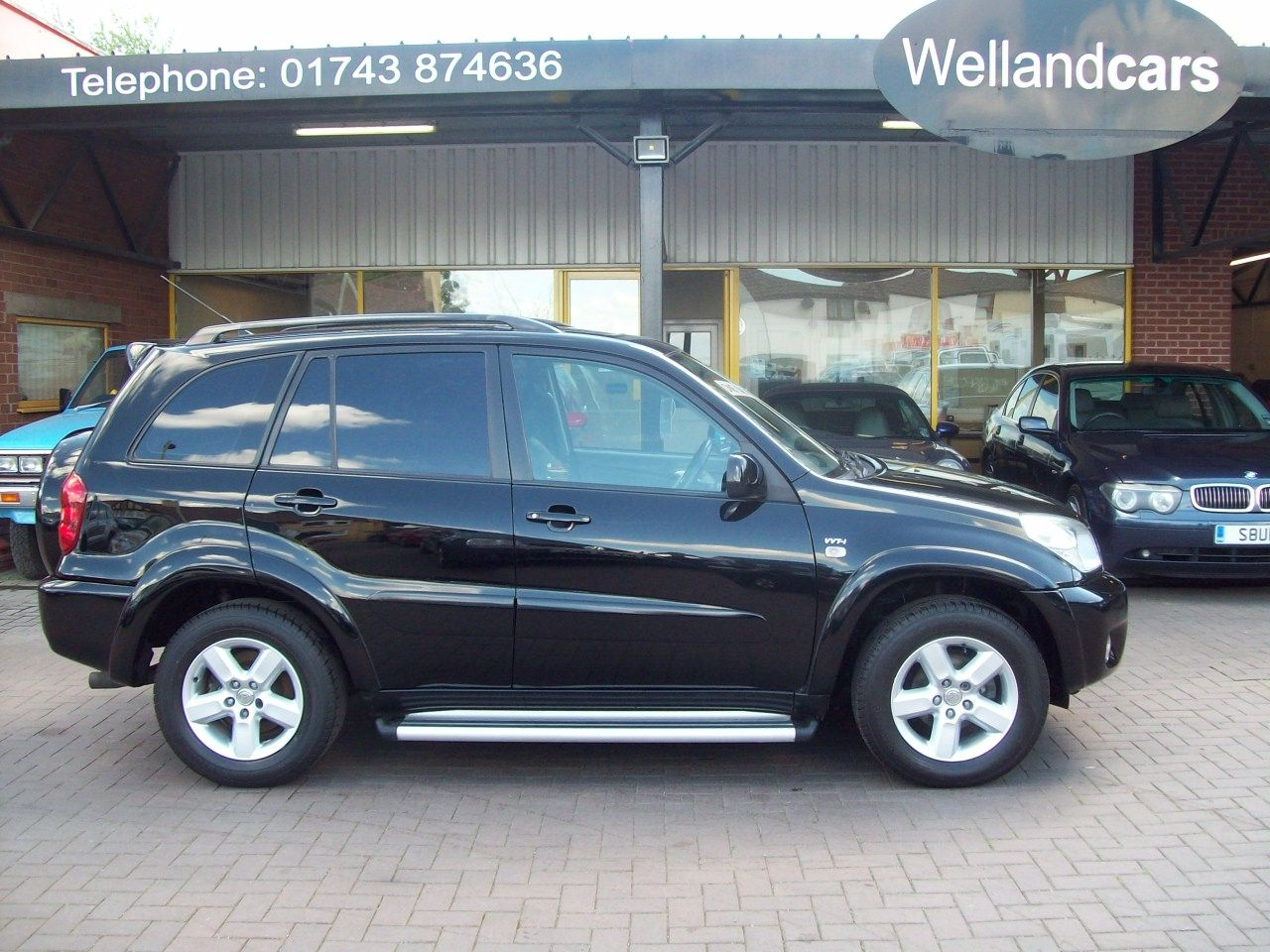 Toyota Rav 4 2.0 XT3 VVTi 5dr 4X4 Manual, 1 Lady Owner, F/S/H, Leather, A/C, Sunroof Estate Petrol Black at Welland Cars Shrewsbury
