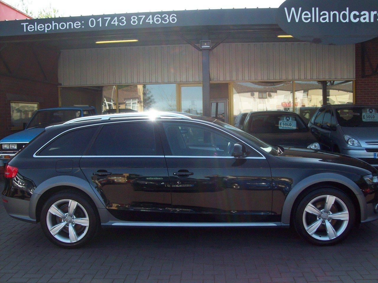 "Audi A4 Allroad 2.0 TDI Quattro 170 5dr, 1 Previous Owner, F/Audi/S/H, Heated Seats, Towpack, 18""Alloys Estate Diesel Black at Welland Cars Shrewsbury"