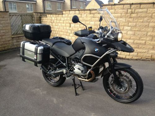 BMW R1200 1.2 GS Adventure Triple Black Enduro Bike Black
