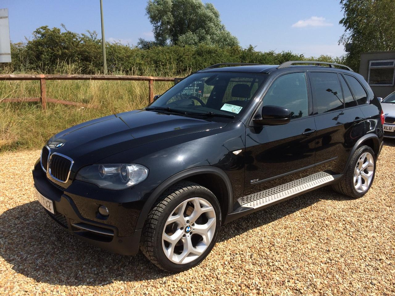 BMW X5 3.0d SE 5dr Auto [7 Seat] Four Wheel Drive Diesel Black