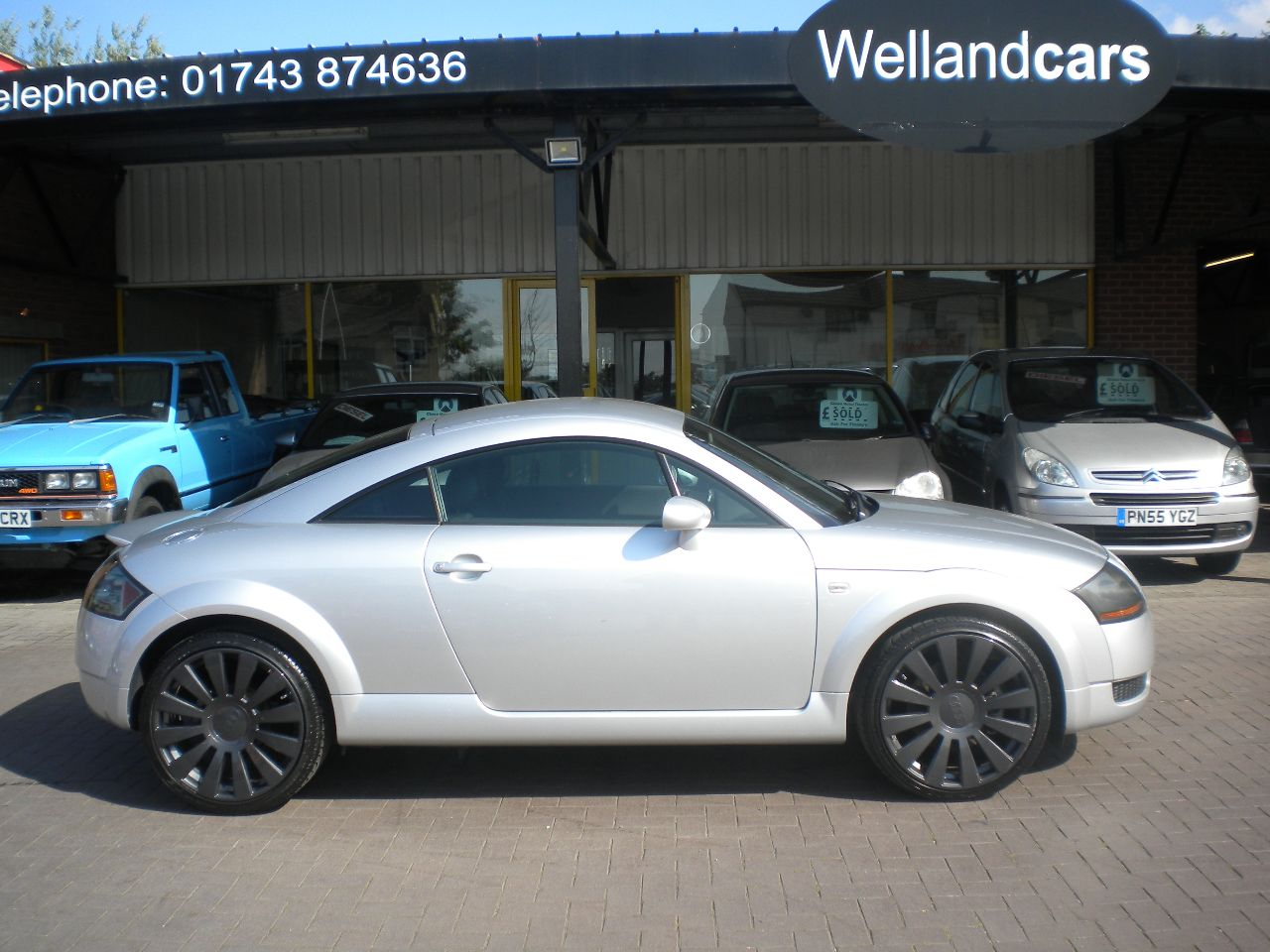 Audi TT 1.8 T Quattro 2dr [180] Coupe, 19`Alloys, A/C Climate, Heated Leather Seats Coupe Petrol Silver at Welland Cars Shrewsbury