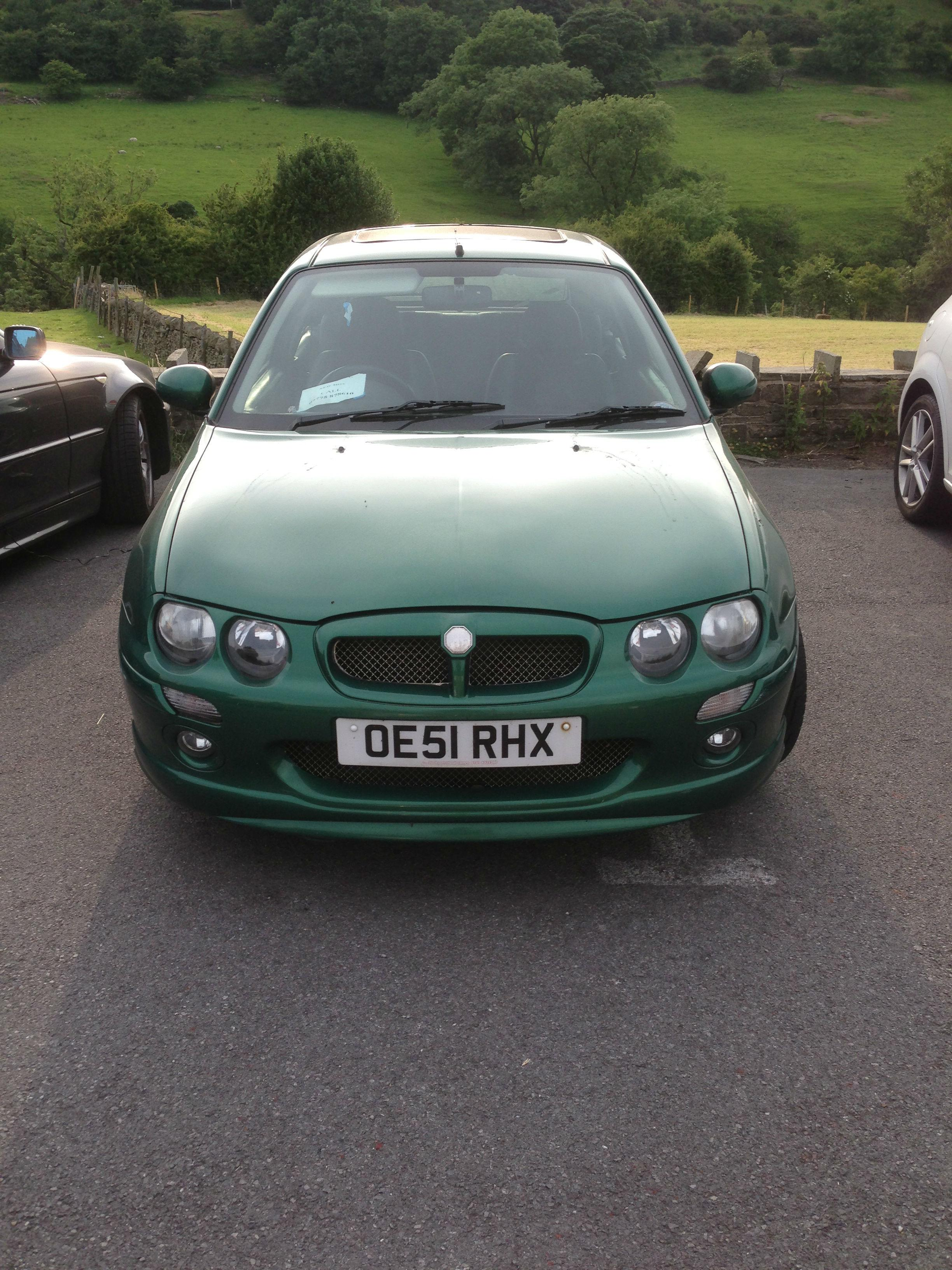 MG ZR 1.4 +105 HATCHBACK PETROL GREEN