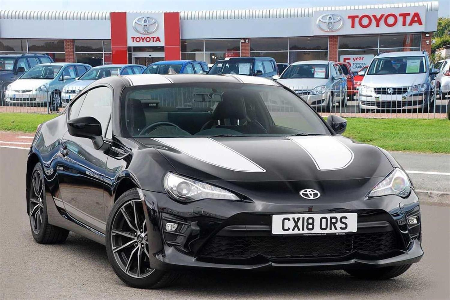 Toyota Gt86 2.0 PRO Coupe Petrol Black