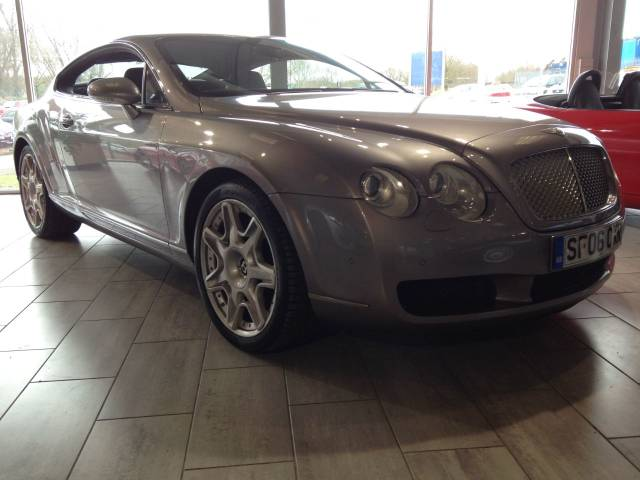 Bentley Continental GT 6.0 W12 2dr Auto Coupe Petrol Silver